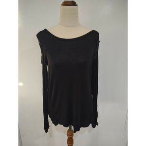 Now Blouse Size 6 Black